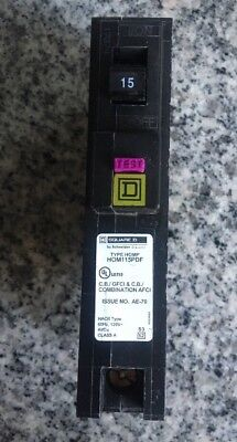 10 Pcs Square D Homeline Hom115pdf Hom115pdfc 15 Amp Dual Function Plug In