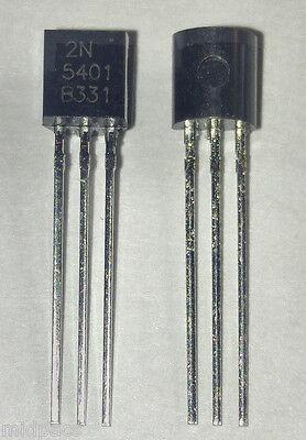 20pcs 2n5401 Pnp Amplifier Transistor 150v 600ma To-92 Us Seller