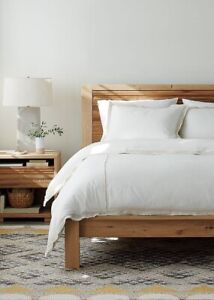 Crate and Barrel Sierra King bed!