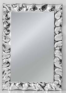specchio moderno specchiera argento design 70x100 per