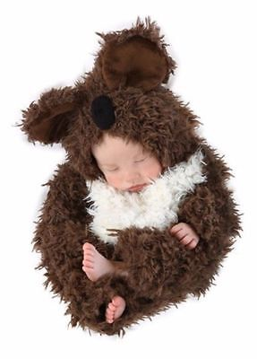 Anne Geddes Koala Bear Furry Halloween Costume Newborn Baby 3-6 Months 4530 NEW