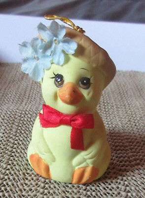 "Knick Knack: 3"" Yellow Chick Bell: Giftco"