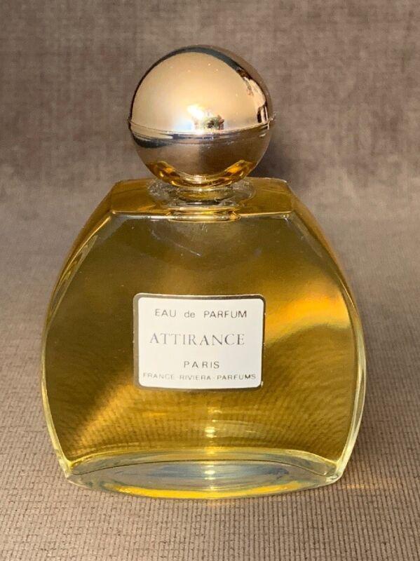 Rare Vintage 1950s Eau De Parfum Attirance Paris France Riviera Parfums Perfume