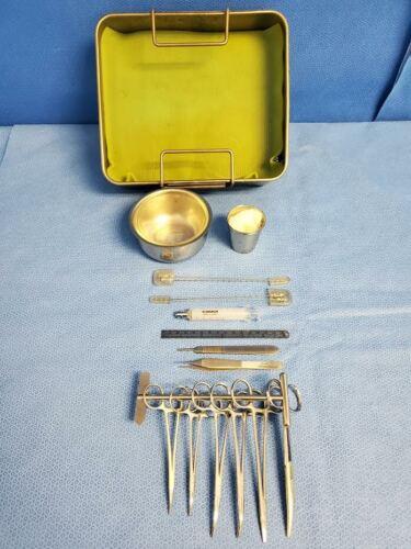 Pilling Weck Jarit V. Mueller Surgical Orthopedic Discogram Set Neurology