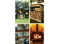 Log burner fuel / bulk bags of wood