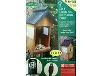 2 in 1 Camera Nest Box / Feeder