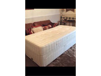 SWEET DREAMS SINGLE BED BASE WITH X2 drawers in excellent condition free local delivery available