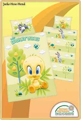 Babybettwäsche Looney Tunes Bettwäsche Bugs Bunny und Daffy Duck 100x135cm NEU ()