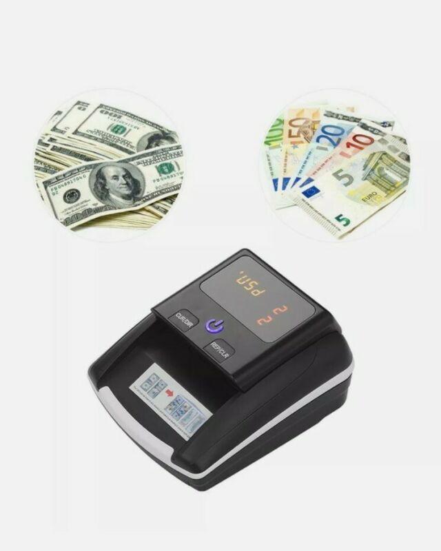 Portable Small Banknote Bill Detector Denomination Value Counter UV/MG/IR X8Z3