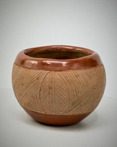Tomasita Montoya Pottery redware