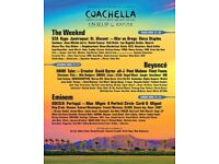 1X WEEKEND 2 COACHELLA TICKET, GENERAL ADMISSION. BEYONCE HEADLINING.