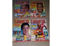 Official Liverpool Football Club Magazines