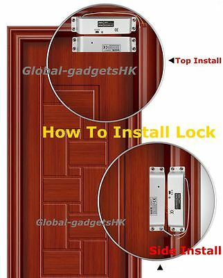 DC12V Fail-Safe Electric Drop Bolt Lock for Security Door Access Control System