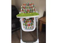 Mamas & papas pesto pear high chair