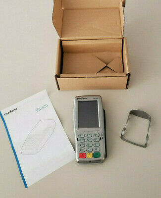 Verifone Vx820 Pin Pad W Emv Chip Reader Contactless M282-703--cd-naa-3 - New