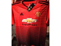 MUFC Adults 18/19 home shirt