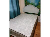 Silentnight Double Divan Bed Base & Headboard with 4 Drawers