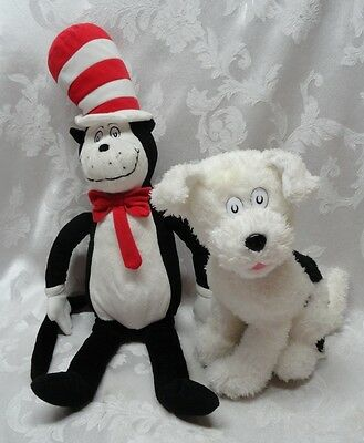 Nevins Dog Cat in the Hat Dr Seuss Suess Dog Kohls Dreamworks Plush Animal