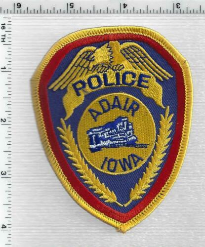 Adair Police (Iowa) 2nd Issue Shoulder Patch