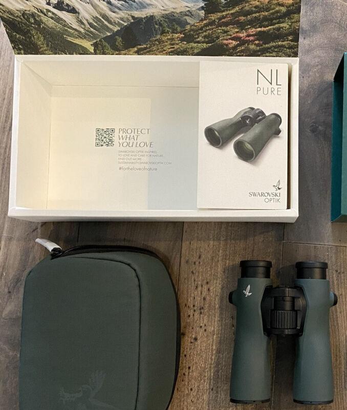 2021 SWAROVSKI NL Pure 12x42 HD Binoculars