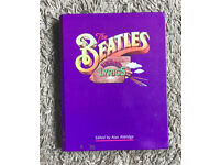 Beatles illustrated lyric book