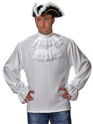 CHEMISE Blanche à jabot TU Déguisement Homme Marquis Mousquetaire Noble - Mousquetaire Kostüm
