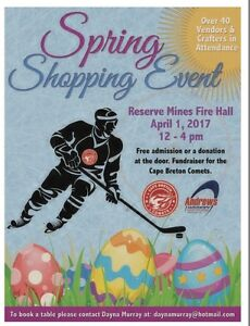 Spring Shopping Event - Reserve Mines Firehall