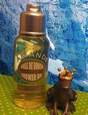 L'Occitane Provence Amande Almond Oil Shower Oil / Huiles Luxe Douche 2.5fl oz