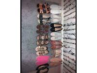 Various sandals/shoes