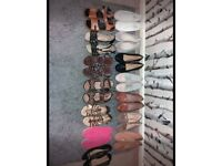 Various ladies shoes/sandals mainly size 7