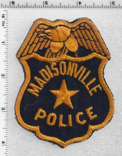 Madisonville Police (Kentucky) 1st Issue Shoulder Patch