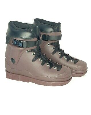 Them Skates Sean Darst Maroon Sz Medium Boot Only EXCELLENT  see pics