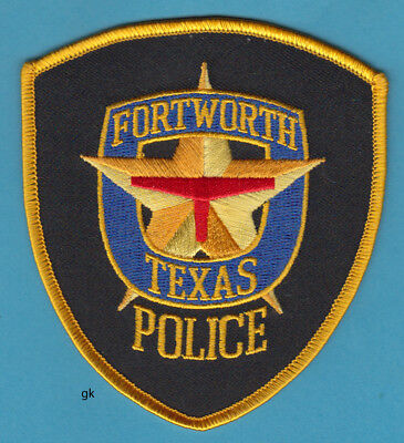 For sale FORT WORTH TEXAS POLICE SHOULDER PATCH