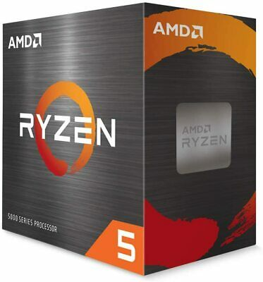 AMD Ryzen 5 5600X 6-core 12-Thread Desktop Processor w/Cooler 2-DAY SHIP!