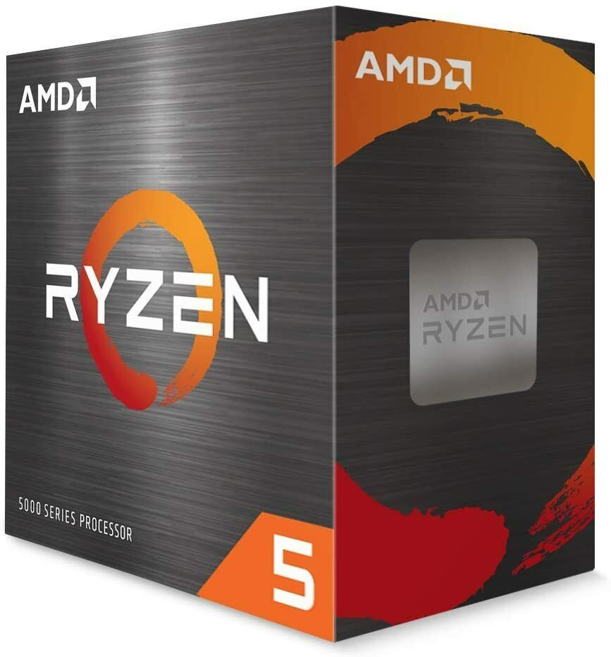 AMD Ryzen 5 5600X 6-core 12-Thread Desktop Processor with Wraith Stealth Cooler