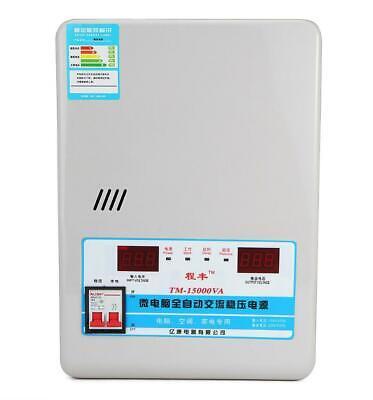 15kw Automatic Voltage Stabilizer Ac Regulator Power Supply 120-270v To 220v