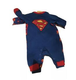 New superman baby grow