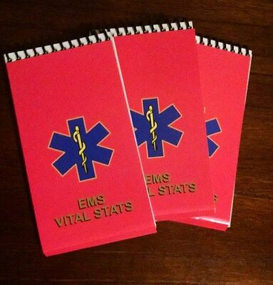 Ems Vital Stats Notebook 3 Pack