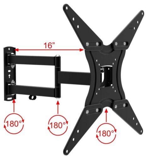 TV Wall Mount Full Motion Bracket Fits 32 - 55 Inch LED LCD Flat Screen