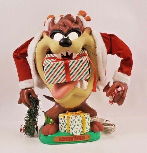 Santa Tazmanian Devil Warner Brothers Vintage 1996 Animated Looney Tunes Box Taz