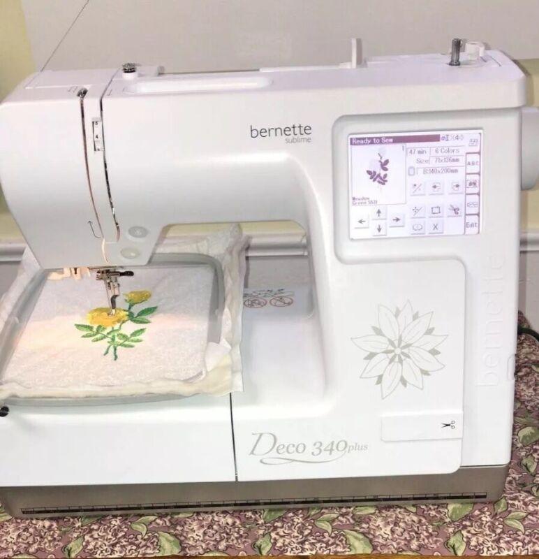 Bernette Deco 340 Plus Embroidery Machine