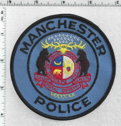 Manchester Police (Missouri) 1st Issue Shoulder Patch