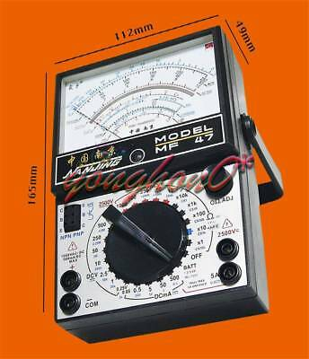 Mf47 Analog Multi-meter Ohm Meter 5 Big Display No On Off Warning