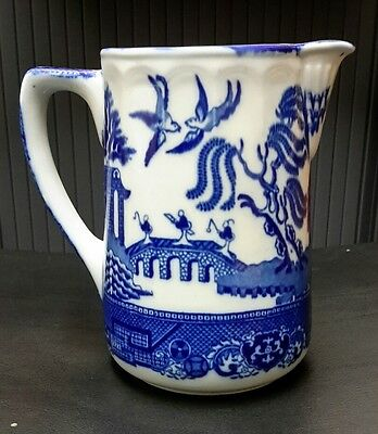 Doulton Burslem 1882-1902 Willow pattern large JUG