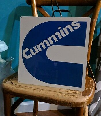 Cummins Diesel Sign Turbo Truck Mechanic Garage Repair Shop 50007 12x12