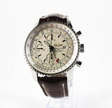 BREITLING NAVITIMER WORLD GMT | The Watch Finder Co. Melbourne CBD Melbourne City Preview