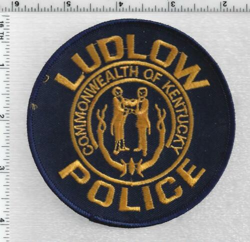 Ludlow Police  (Kentucky) 1st Issue Shoulder Patch