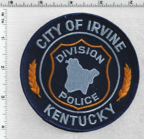 City of Irvine Police (Kentucky) 2nd Issue Shoulder Patch