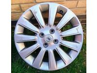 """3x 16"""" Nissan Micra Sport+ wheel rims (with some tyres)"""