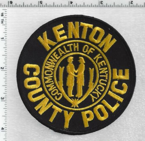 Kenton County Police (Kentucky) 4th Issue Shoulder Patch